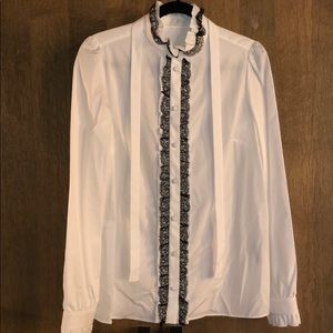 Dolce&Gabbana button down with lace